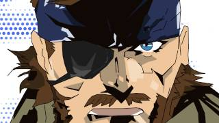 Metal Gear Solid Peace Walker Animation - Drunken Cecile