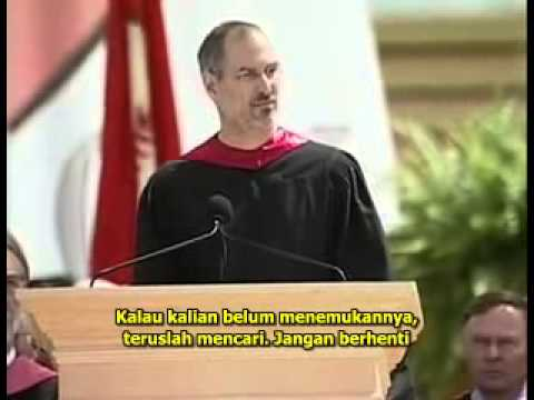 Steve Jobs Stanford Commencement Speech 2005 with Indonesian Subtitle