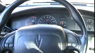 1998 Pontiac Bonneville SE Startup Engine & In Depth Tour