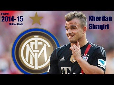 Xherdan Shaqiri ► Skills/Goals - Season 14-15