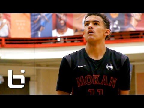 Trae Young Claims No.1 Point Guard Spot at Peach Jam Finals! Raw Footage