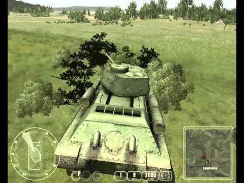 Обзор на игру Т-34 Против Тигра