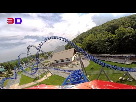 Alpina Blitz 3D front seat on-ride HD POV Nigloland