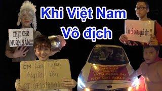 Những slogan lầy lội, hài hước của dân đi bão Sài Gòn khi Việt Nam vô địch Aff cup 2018 - Guufood