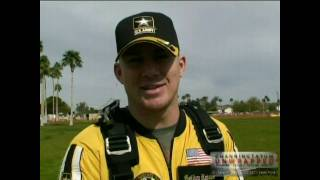 Channing Tatum Parachuting with the Golden Knights (High Definition HD)