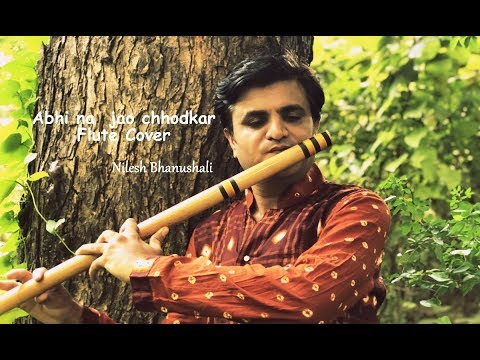Abhi na jao Chhod kar | Flute cover | Unplugged | Hindi Instrumental
