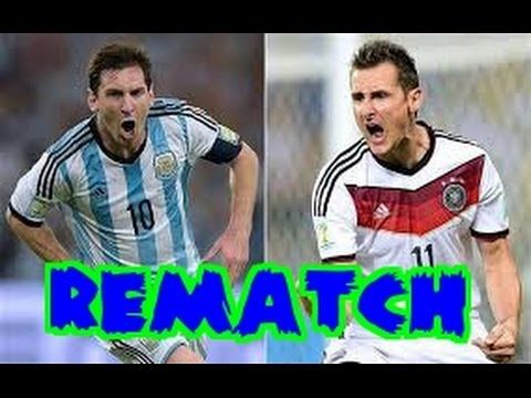 Fifa WC 2014 Rematch: GER vs. ARG