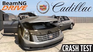 BeamNG DRIVE crash test mod Cadillac DTS