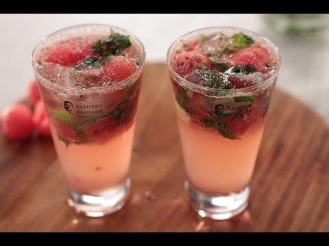 Watermelon Mojito | Sanjeev Kapoor Khazana