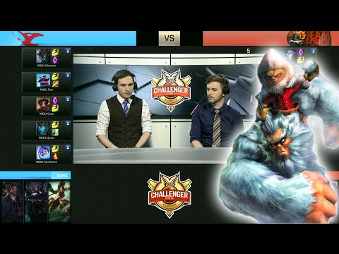 Mousesports vs Team Forge | Day 3 Group Stage 2016 EUCS Summer Qualifiers | MOU vs 4G