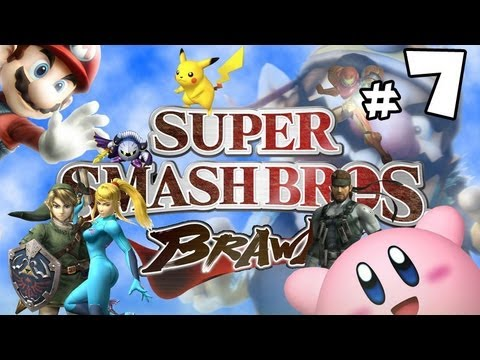 Super Smash Bros Brawl w/ Ethan - PART 7 - Kissing Love Plants