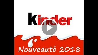 Nouvelle Pub Kinder 2018 - Film d'animation