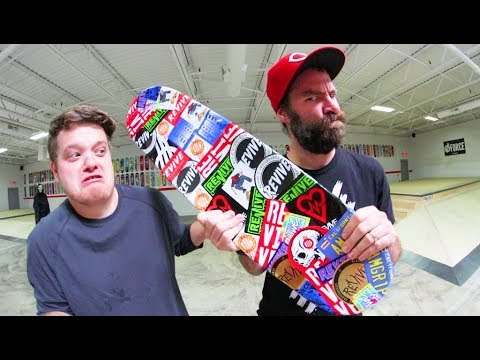 We Stickered His Grip Tape! / Warehouse Wednesday