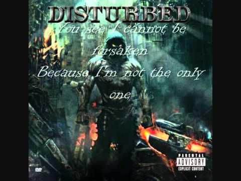 Disturbed-Forsaken lyrics thumbnail