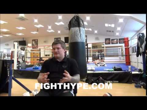 RICKY HATTON DOESN'T THINK AMIR KHAN WILL HAVE ANY TROUBLE HITTING LUIS COLLAZO