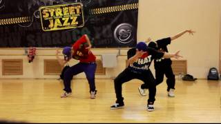 Jun Quemado workshops Moscow by Street Jazz Dance Studio. 3 и 4 Апреля 2010г.