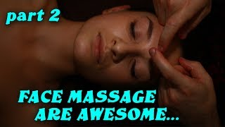 Face massage are awesome part 2 Пластический массаж лица Токмаков