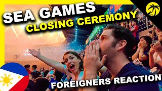 SEA Games CLOSING CEREMONY 2019 Foreigners BLOWN AWAY