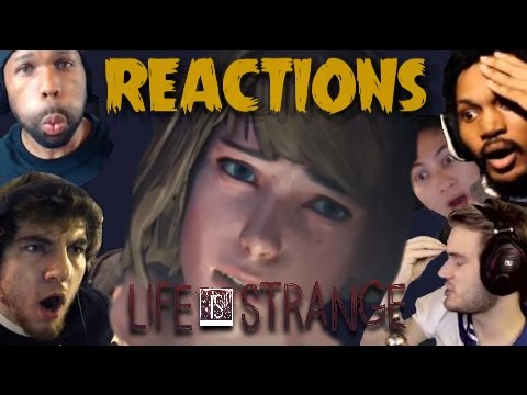 YouTubers Reactions to Life Is Strange Episode 4 Ending