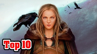 Top 10 MYTHICAL CREATURES And Gods Of NORSE MYTHOLOGY