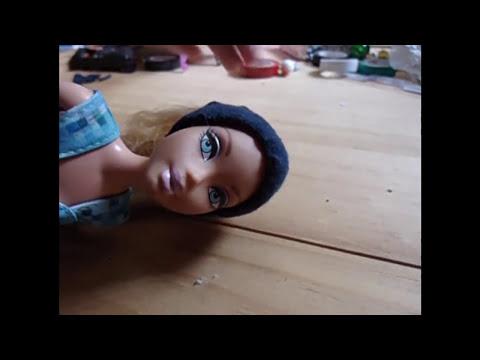 Como hacer un traje de baño, un vestido y un gorrito para tu muñeca sin coser ni pegar :)