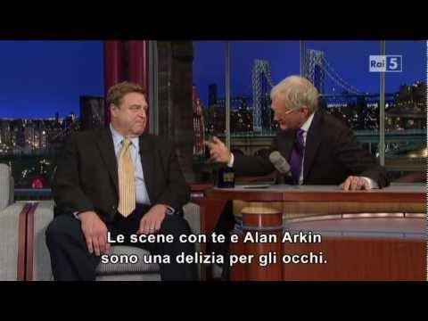 John Goodman al David Letterman (sub ita)