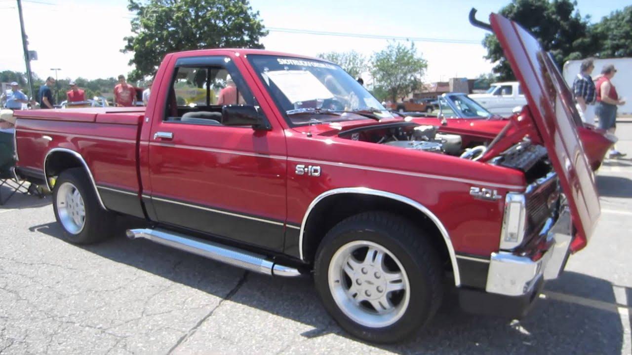 96 Chevy S10 Blazer with 43 L engine vortex will turn