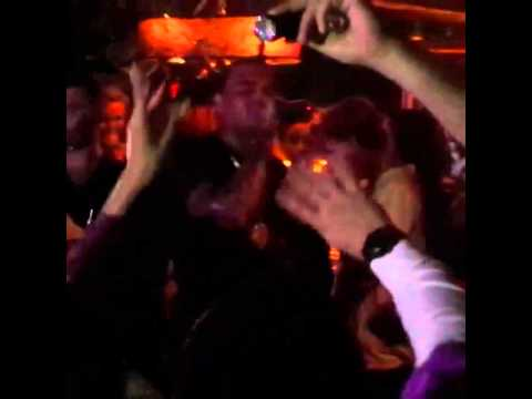 Chris Brown Singing look At Me Now At A Club In Sarajevo video