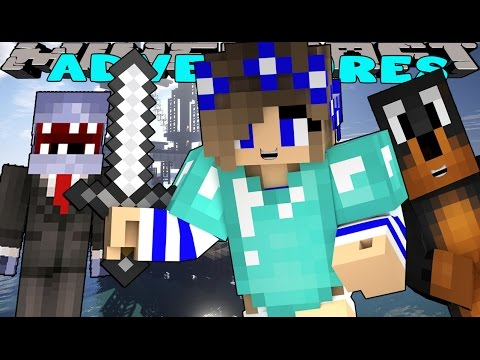 Minecraft-Little Carly Adventures-WHERE IS SHARKY?? W/Donut The Dog