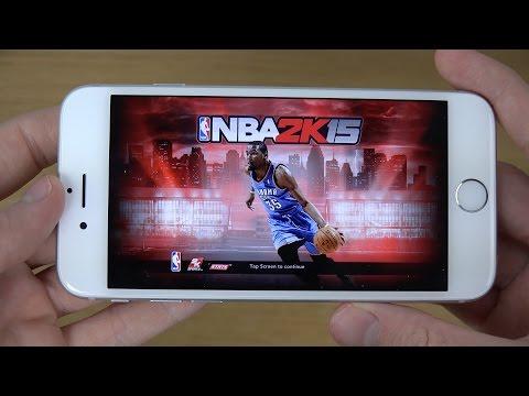 NBA 2K15 iPhone 6 4K Gameplay Review