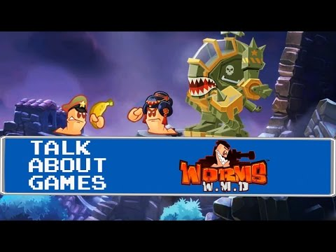 Worms W.M.D (PS4) Talk About Games 4k