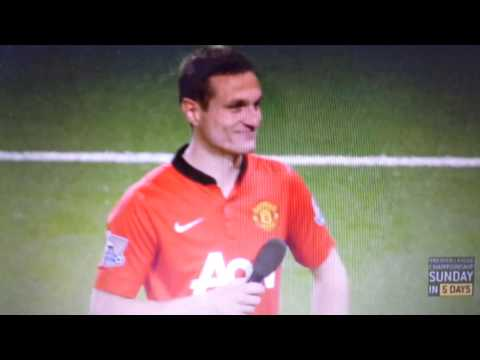 Nemanja Vidic Goodbye speech at Old Trafford