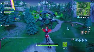 Fortnite Season 8 live mit Bunsenbrenner