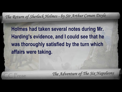 Part 3 - The Return of Sherlock Holmes Audiobook by Sir Arthur Conan Doyle (Adventures 06-08)