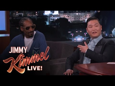 Psy & Snoop on Working Together