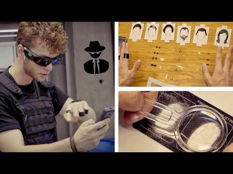 AJAN ve DEDEKTİFLERİN ÖZEL TAKTİKLERİ (Robot Resim, Gizli Kameralar, Parmak İzi Seti)
