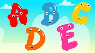 Five Little Alphabets | Baby Box Nursery Rhymes And Kids Songs