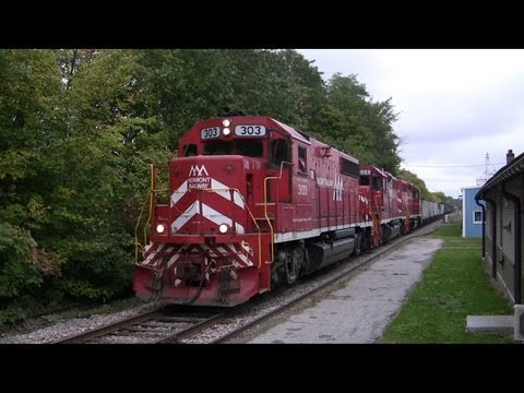 Trains of Vermont: New England Central Vermont Rail System and...