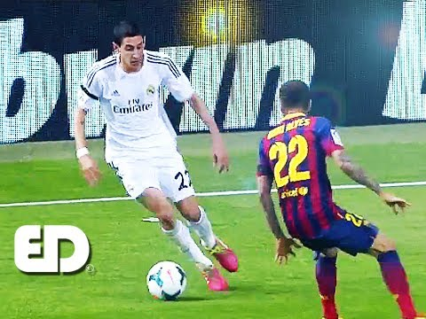 Di Maria vs Barcelona 720p | AMAZING Performance 23/03/14