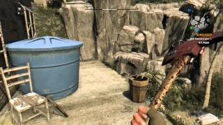 Dying Light - Random Encounter Sequence, Miner Fight, Enforcer Upgrade & Hook Blade (Lockpick Chest)