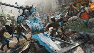 For Honor Gameplay - Multiplayer & Single Player Campaign
