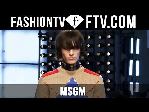 MSGM F/W 16-17   Milan Fashion Week : Men F/W 16-17   FTV.com