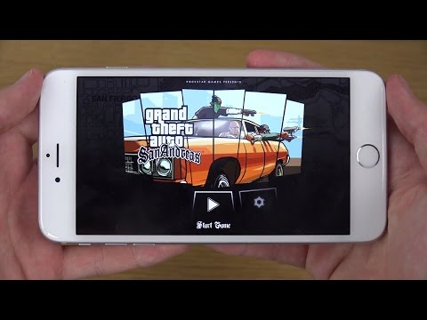 GTA San Andreas iPhone 6 4K Gameplay Review