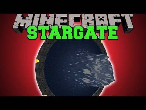 Minecraft: STARGATE MOST EPIC TELEPORTING EVER Mod Showcase