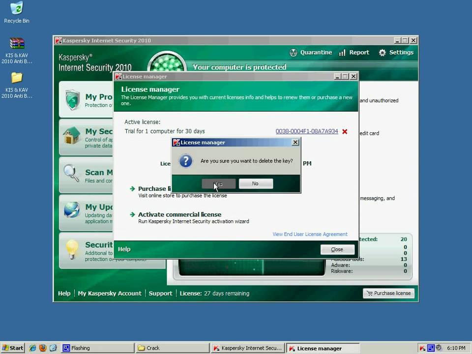 Kaspersky Blacklist patch v1.0 RELEASED: April 12th, 2010 VERSION: 1.0 NOTE