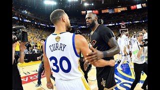 Top 10 Plays From The Cavaliers and Warriors NBA Finals Trilogy!