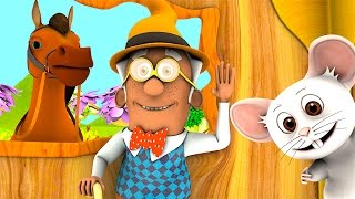 There Was A Crooked Man Nursery Rhymes Songs Collection 3D English Kids Song By Little Treehouse VideoMp4Mp3.Com