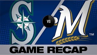 Arcia's homer leads Brewers past Mariners | Mariners-Brewers Game Highlights 6/27/19