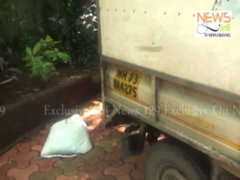 Robbed Furnace oil and diesel acquired by Nehru Nagar Police Mumbai-India (Marathi)