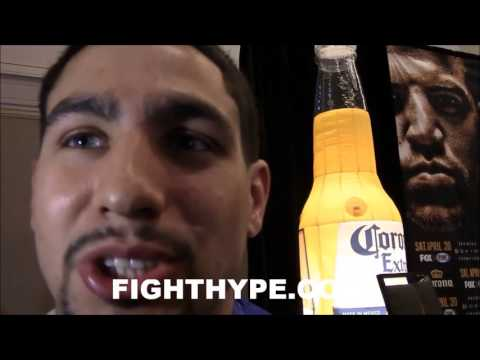 DANNY GARCIA SAYS FLOYD MAYWEATHER WOULD FIGHT HIM BECAUSE HE'S THE BEST AND MOST POPULAR AT 147